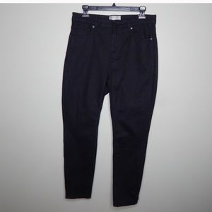 Everlane button-fly black jeans